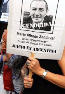 Affaire Sandoval devant le Conseil d'État : ultime recours avant d'affronter en Argentine les crimes du passé ? (Communiqué)