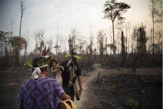 Dans l'Amazonie brésilienne, les assassinats de protecteurs de la forêt se multiplient (Laurent Delcourt / Bastamag)