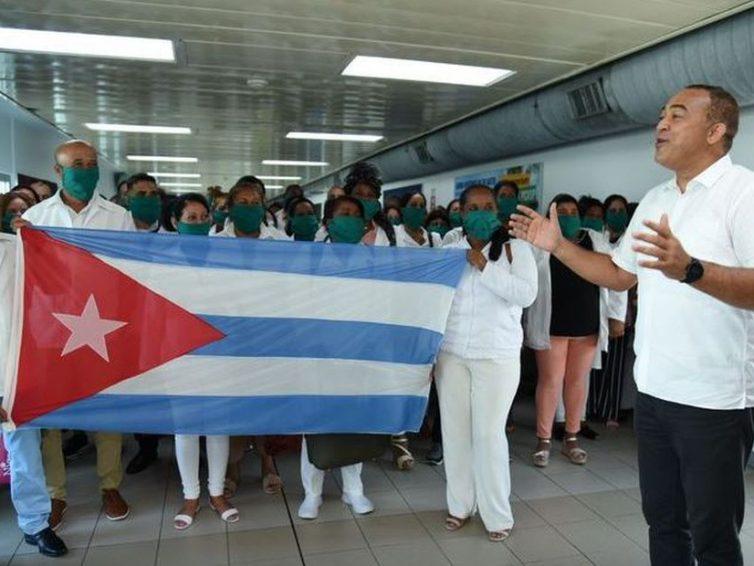 Demande d'attribution du prix Nobel de la paix aux brigades médicales cubaines (communiqué du groupe parlementaire d'amitié France Cuba)
