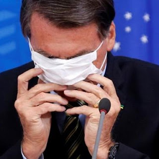 De la «petite grippe» au veto sur le vaccin, les bonnes manières du président Jair Bolsonaro (Sabine Grandadam / Espaces Latinos)