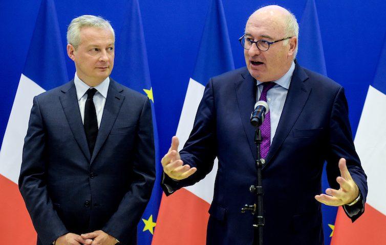 Et pendant ce temps, l'Union européenne conclut un accord de libre-échange avec le Mexique (Adrien Mathoux/ Marianne)