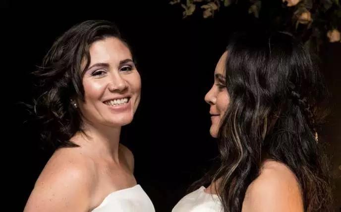 Le Costa Rica, premier pays d'Amérique centrale à légaliser le mariage homosexuel (Le Monde / AFP)