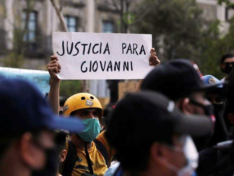 Giovanni López, assassiné par la police mexicaine (articles de La Jornada et Libération/ vidéo du Parisien)