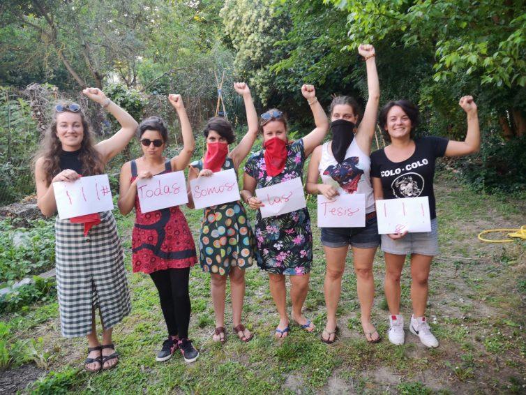 Communiqué #TodasSomosLasTesis de FAL Toulouse