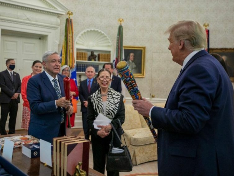 Rencontre historique Trump-López Obrador: soumission du Mexique aux USA ou realpolitik? (Jérôme Blanchet-Gravel/ Sputnik)