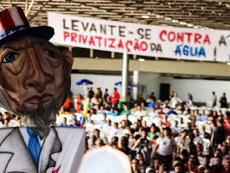 Au Brésil, la stratégie de privatisation de l'eau avance ( Dalila Calisto et José Josivaldo Alves du MAB- Mouvement des personnes atteintes par les barrages/ Observatoire de la démocratie brésilienne)