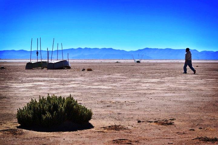 En Bolivie, les orphelins du Poopó pleurent leur lac disparu (Émilien Buffard / Reporterre)