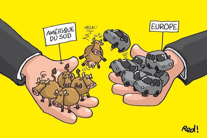 Malgré la déforestation en Amazonie, l'Europe veut signer le traité avec le Mercosur ( Lorène Lavocat / Reporterre)