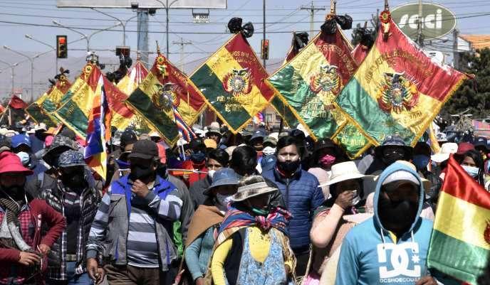 Bolivie. Report des élections. Les secteurs populaires soutenant le MAS descendent dans la rue (Fernando Molina / À l'Encontre)