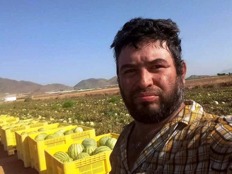 Mort tragique d'un travailleur agricole nicaraguayen dans la région de Murcia (R.M. / Le Matin). Muerte de un temporero en Murcia (María Martín / El País)