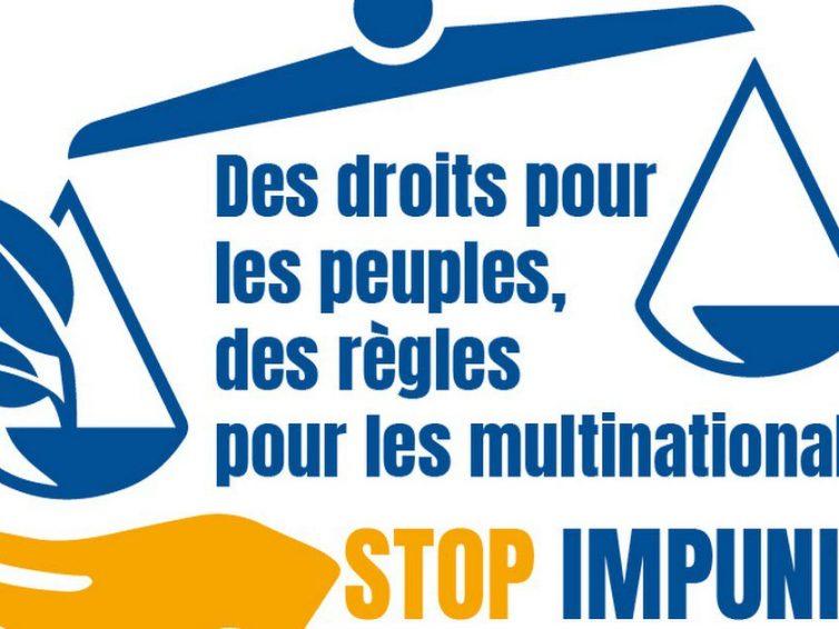 Déclaration de la campagne mondiale sur la nouvelle version du traité contraignant sur les STN – Stop Corporate Impunity