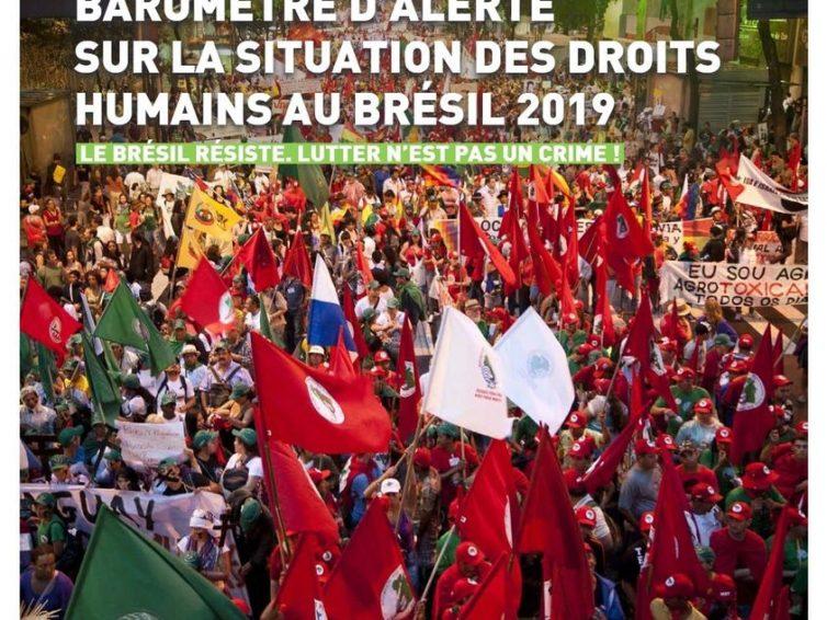 Le Brésil résiste, lutter n'est pas un crime (Coalition Solidarité Brésil)