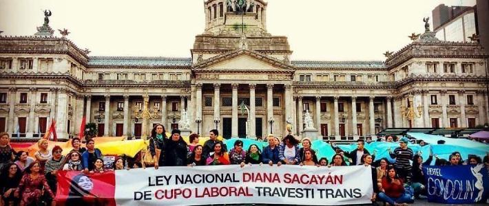 L'Argentine garantit un quota d'emplois dans les administrations publiques pour les personnes trans (Romain Droog / Espaces Latinos)