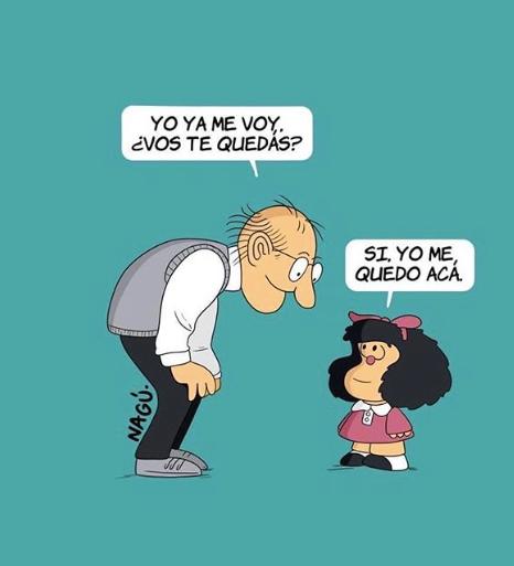 ¡Hasta siempre, Quino! (revue de presse, dessins et vidéos / français / espagnol)