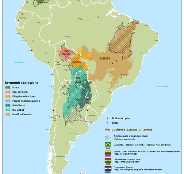 Accaparement de terres numériques en Amérique du Sud (Cédric Leterme/ Cetri)