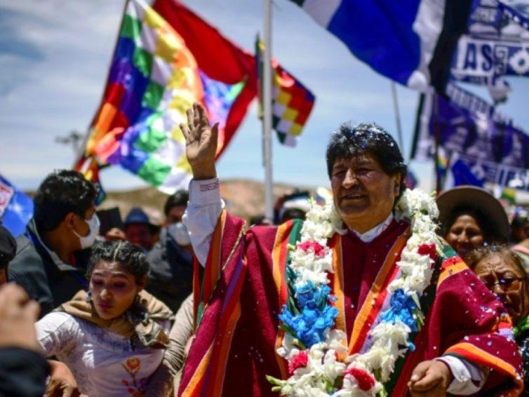 Bolivie: retour d'Evo Morales (revue de presse)