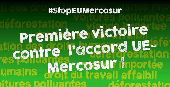 Vers une première victoire contre l'Accord UE-Mercosur (Communiqué du collectif national Stop CETA Mercosur et article de Maxime Combes / Bastamag)