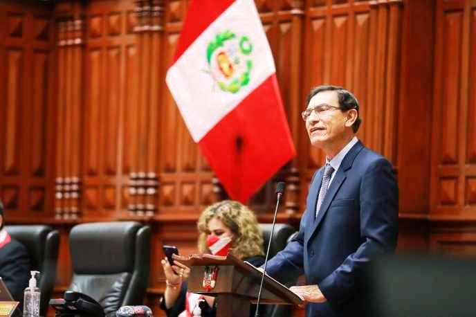 Pérou: destitution du président Vizcarra (revue de presse)
