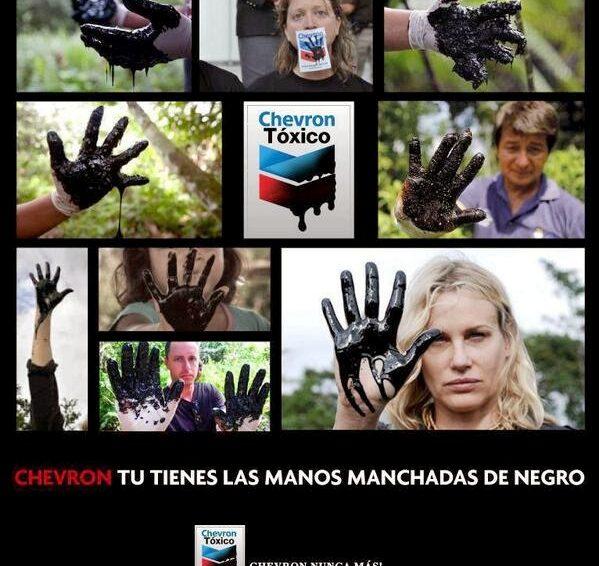 Équateur: défense des droits des communautés indigènes et paysannes contre Chevron.