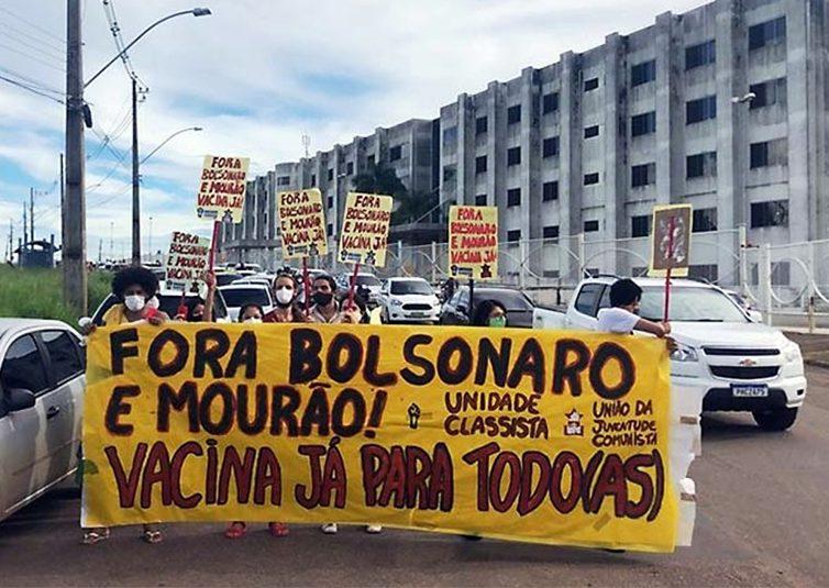 Brésil: des milliers de manifestants contre la gestion de la pandémie par le président Bolsonaro (AFP / La Presse / À l'Encontre)