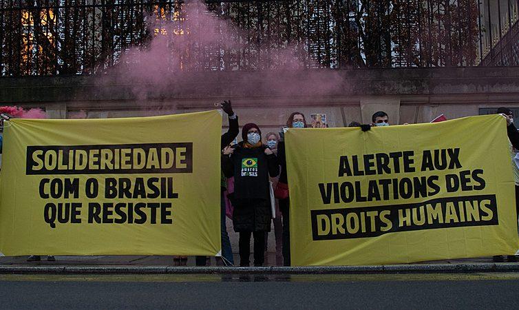 Baromètre d'alerte sur la situation des droits humains au de la Coalition Solidarité Brésil (revue de presse)