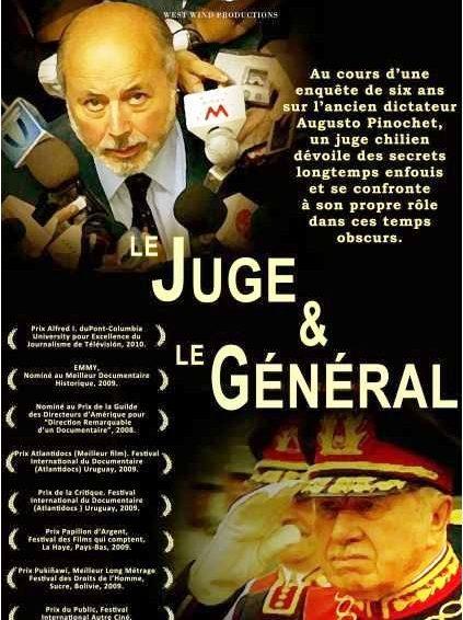 """Chili. Libre accès au documentaire sur le juge Juan Guzmán, """"Le Juge et le Général"""""""