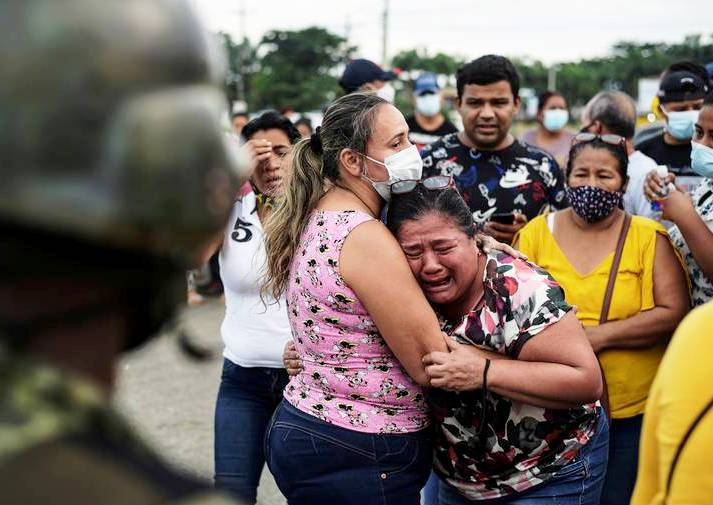 Équateur : soixante-dix neuf morts dans des mutineries en prison (Eva Moysan – Libération / Euronews)