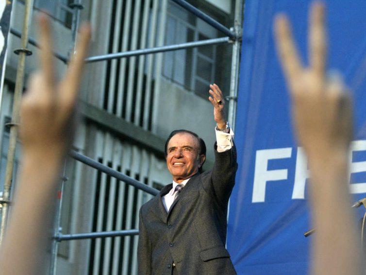 L'ancien président argentin Carlos Menem est mort (Christine Legrand / Le Monde)
