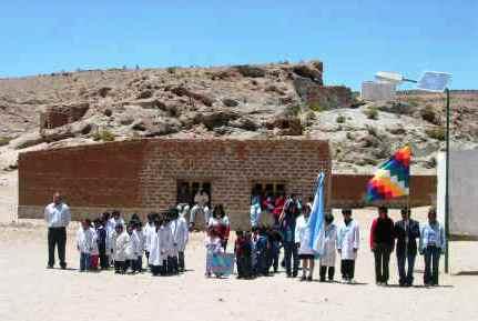 FAL 83: un projet de solidarité en Argentine. Les enfants d'Atacama