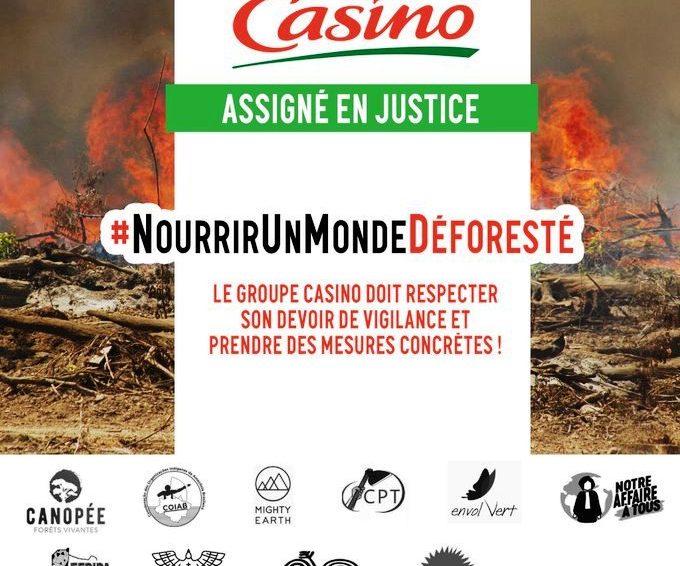 Déforestation en Amazonie : des ONG et des organisations indigènes du Brésil et de Colombie poursuivent Casino en justice en France (Aude Mazoué / France 24)