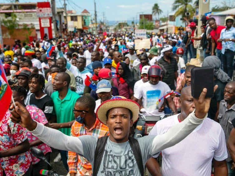 Haïti. Manifestations contre le gouvernement de Jovenel Moïse (Amélie Baron – RFI/ vidéo de TV5 Monde)