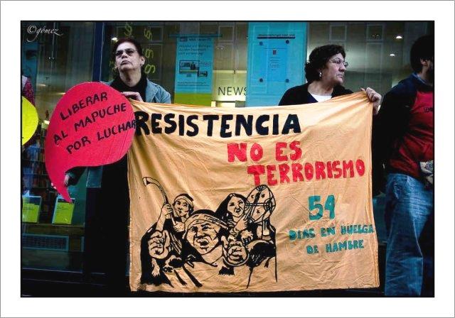 Les prisonnier·es politiques mapuche continuent de lutter pour leurs terres et la liberté (Edgars Martinez Navarrete – NACLA / Traduction Ritimo)