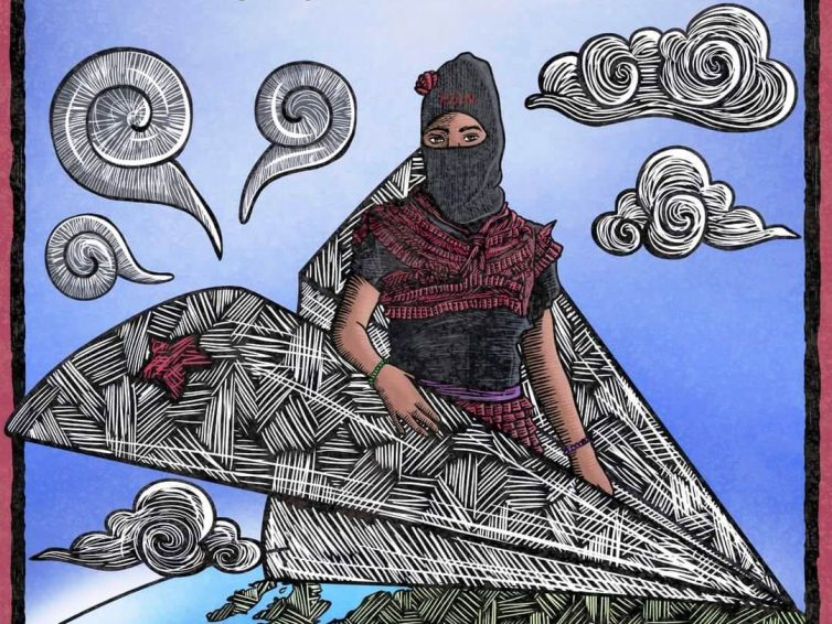 Mexique. Caravane zapatiste : en route vers l'Europe… (Commission Sexta de l'EZLN / Enlace zapatista)