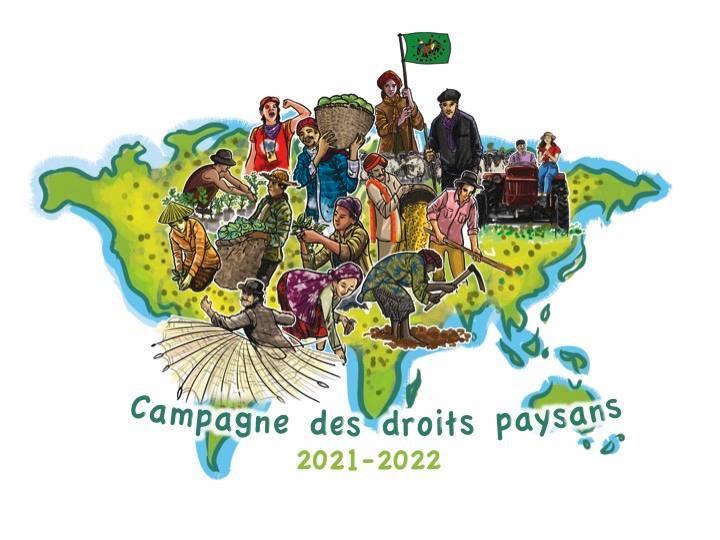 Notre Comité Solidarités Paysannes Internationales organise sa tournée en France (informations et clip-vidéo)