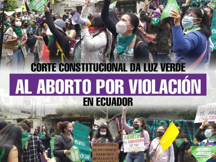 Droit des femmes : l'Équateur dépénalise l'avortement en cas de viol (Julien Lecot – Libération / vidéo de Euronews / Julie Ducos-Espaces Latinos)
