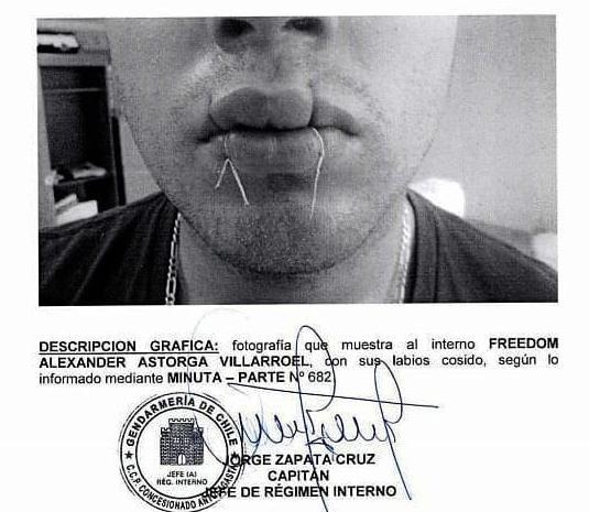 Communiqué sur la grève de la faim du prisonnier politique Freedom Astorga (Collectif international de parrainage des prisonnier-e-s politiques de la révolte sociale au Chili)