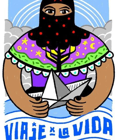 La route pour la vie ! Collecte de fonds pour la venue des zapatistes (texte et vidéo de Primitivi)