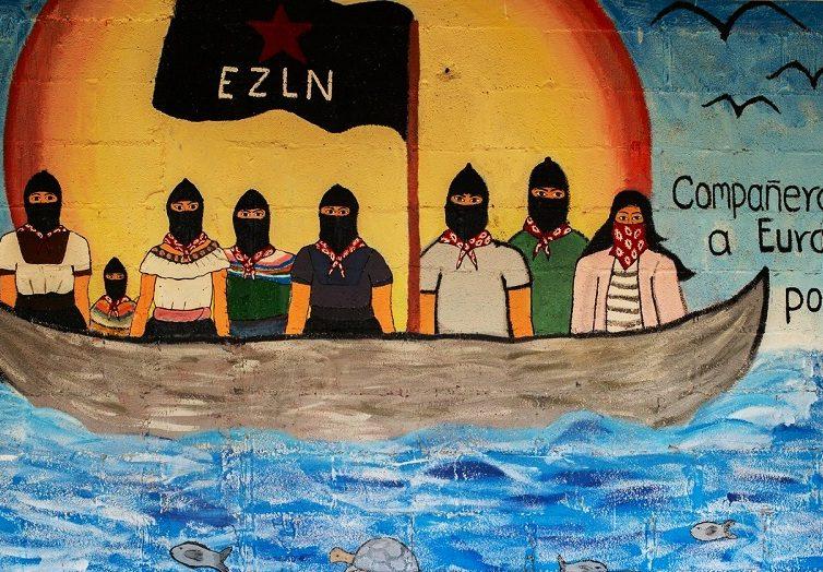 Les zapatistes viennent en Europe raviver les braises de la rébellion (Reporterre)