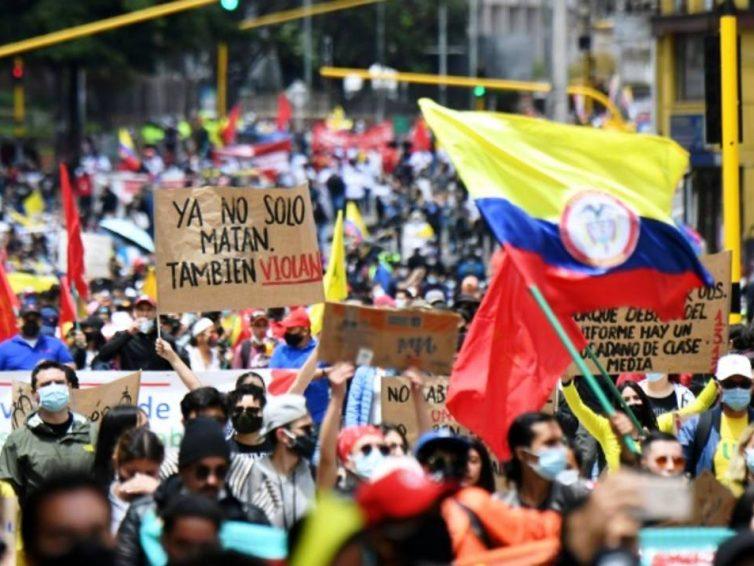 Mobilisations et répression en Colombie (revue de presse fr./esp.)