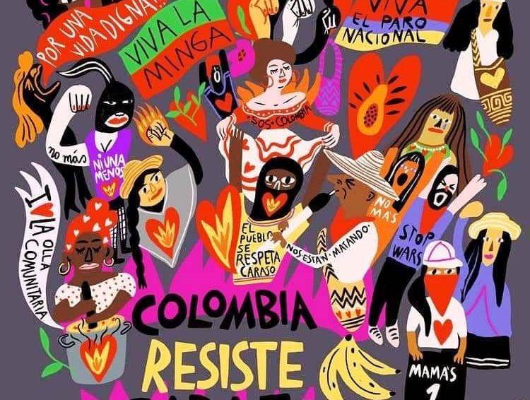 Colombie : un mois de résistance et de mobilisations (revue de presse)