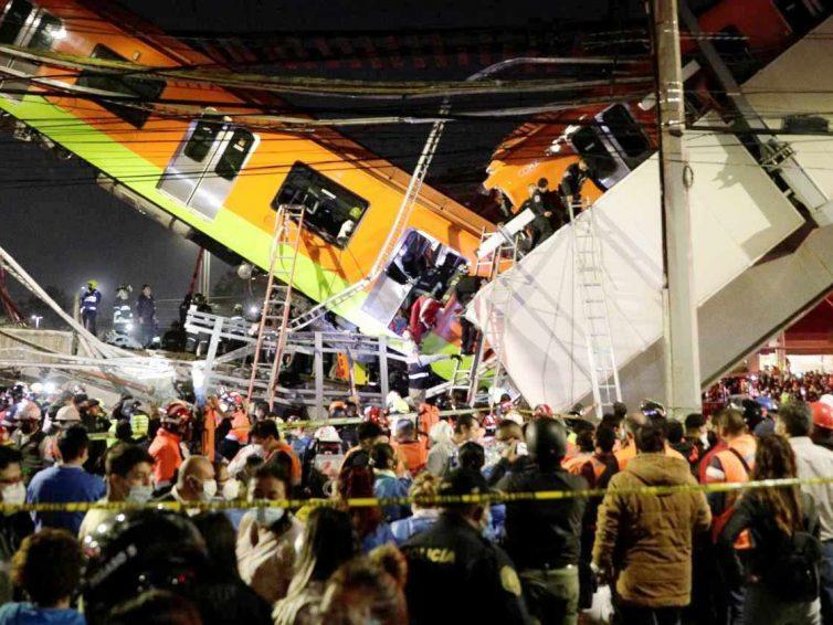 Mexico : au moins 25 morts dans l'effondrement d'un pont au passage d'une rame de métro (Le Monde / AFP / Reuters)