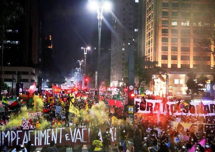 Au Brésil, la démonstration de force d'une gauche en quête de stratégie ( Chantal Rayes / Libération)