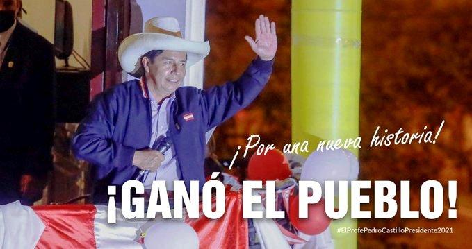 Pedro Castillo proclamé vainqueur de la présidentielle au Pérou (revue de presse)