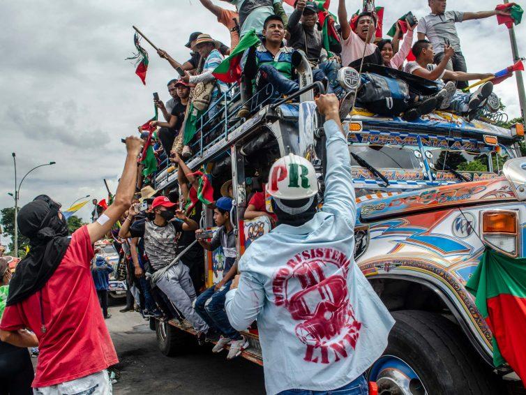 Colombie. Jours de résistance, nuits de plomb (Andrea Aldana / Blast Info)
