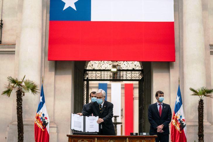 Au Chili, la nouvelle Constitution commence à s'écrire (Marion Esnault / La Croix)