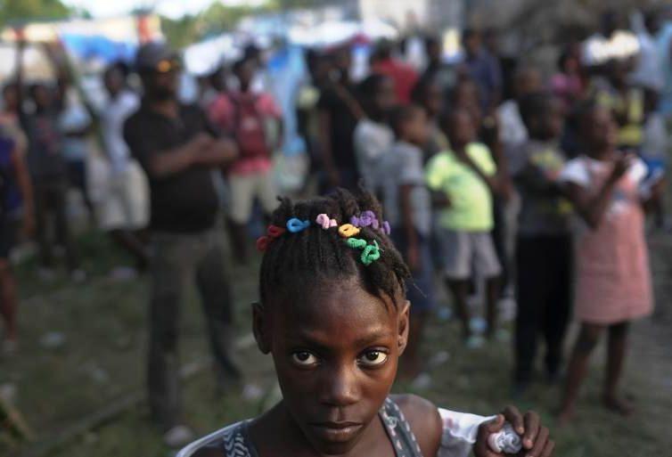 En Haïti, les femmes dans la crainte de violences sexuelles depuis le séisme (Isabelle Mourgere  / Terriennes / TV5)