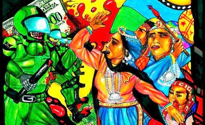 Féminismes et artivisme dans les Amériques. Extrait du livre coordonné par Lissell Quiroz (Contretemps)